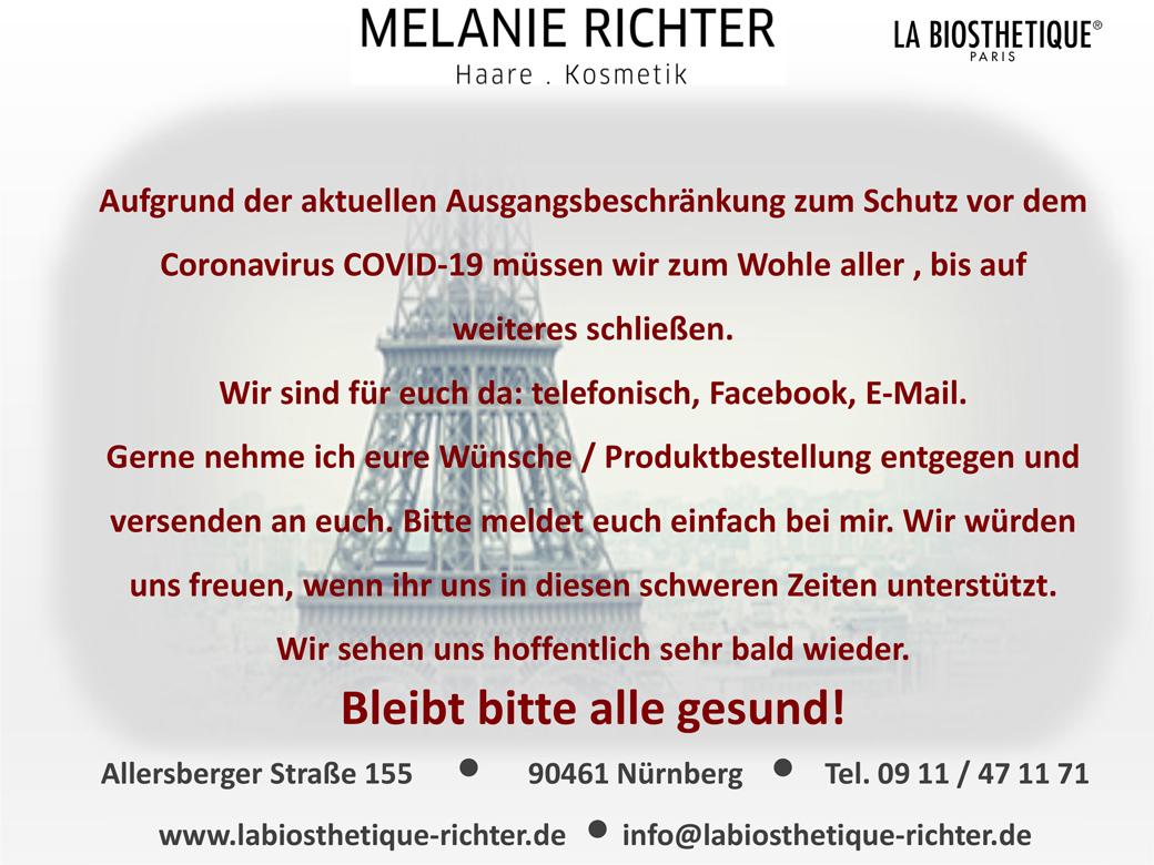 Friseur Nürnberg Corona Information